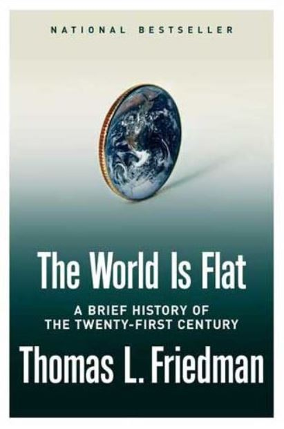 "Judy Received Inspiration From Author Thomas Friedman through ""The World is Flat."""