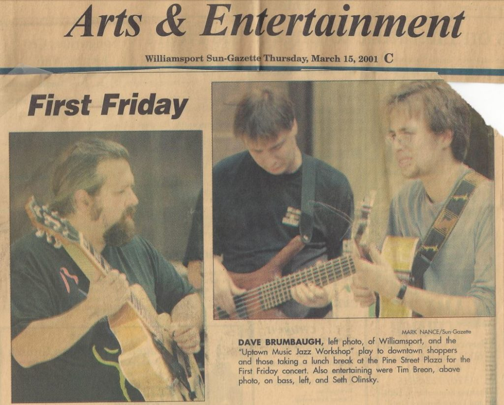 The First, First Friday, Takes Place